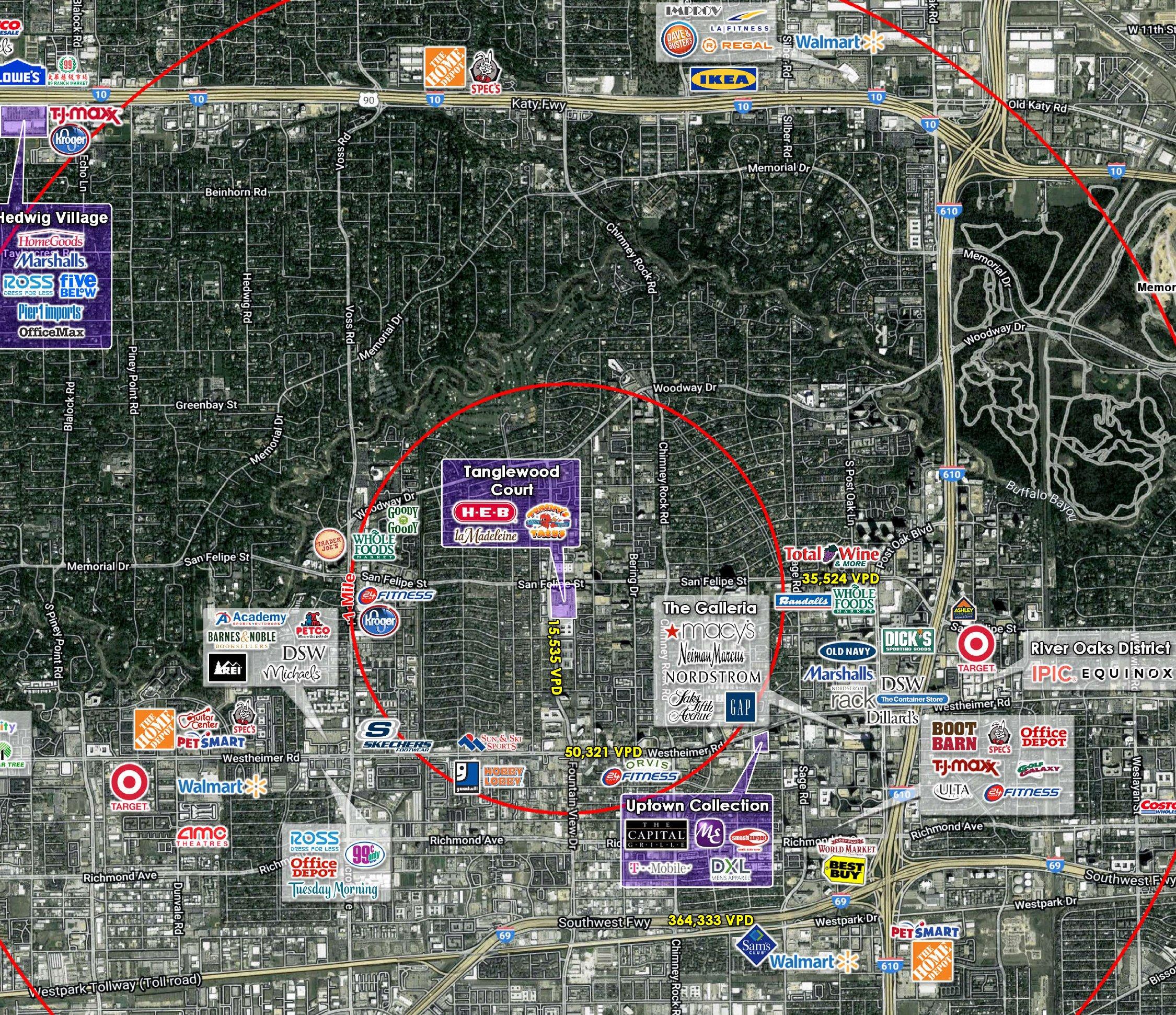 Tanglewood_Houston_Aerial