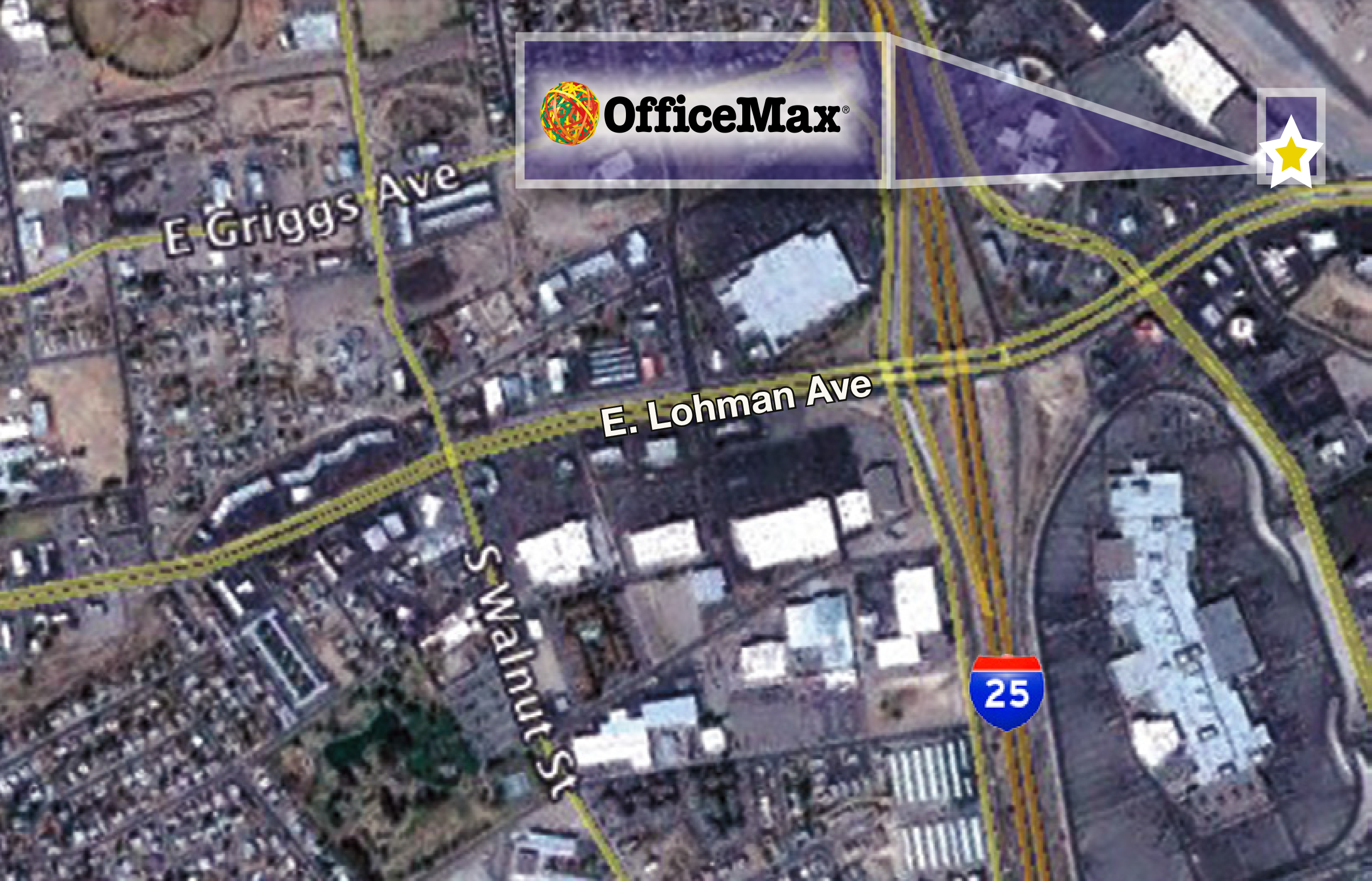 OfficeMaxLasCruces_siteplan