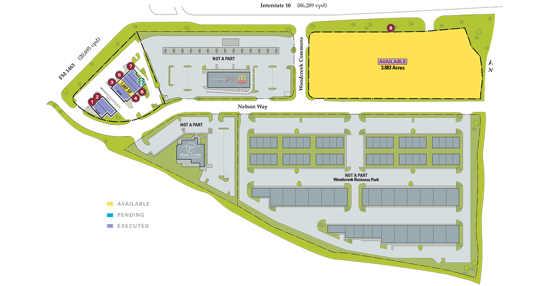 woodcreek commons siteplan